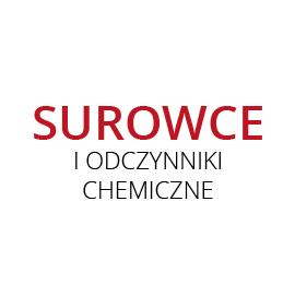 SUROWCE I ODCZYNNIKI CHEMICZNE